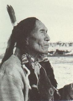 Heȟáka Sápa also known as Black Elk  (December 1863-August 19, 1950)   Medicine Man of  Oglala Lakota (Sioux).