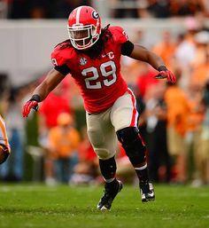 Jarvis Jones // Georgia Bulldogs