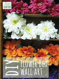 Flower Box Wall Art