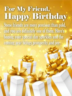 Send Free You'll Always be my Special - Happy Birthday Wishes Card for Friends to Loved Ones on Birthday & Greeting Cards by Davia. It's free, and you also can use your own customized birthday calendar and birthday reminders. Special Happy Birthday Wishes, Birthday Wishes For A Friend Messages, Birthday Greetings Friend, Happy Birthday Quotes For Friends, Birthday Wishes Quotes, Happy Birthday Pictures, Happy Birthday Fun, Birthday Msgs, Birthday Club