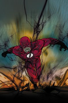 "league-of-extraordinarycomics: ""The Flash by CARMINE DI GIANDOMENICO """
