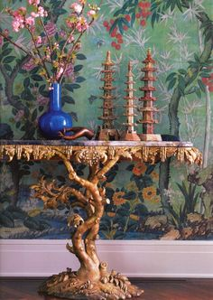 Chinoiserie details from designer Michael Smith book Elements of Style (via Habitually Chic®)