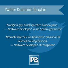 En yüksek aktif kullanıcı sayısına sahip sosyal medya kanalı Twitter'ı işe alımlarda kullanmak için arama ipuçları  #sosyal #medya #twitter #ipucu #socialmedia #tweet #recruitment #jobs #hiring #business #hr #recruiter #ik #ofis #istanbul #iş #work #kahve #günaydın  #tips #advice #tricks #tutorial #lifehacks #hacks