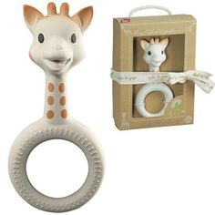 Sophie the Giraffe Ring Teether Made in France