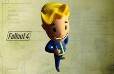 Trabajo de foto-vectorización realista de objetos usando mallas, en Adobe Illustrator. Representación de la figura del Videojuego Fallout 4.