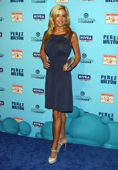 Camille Grammer Photos Photos - Celebrities at the Perez Hilton Blue Ball Birthday Celebration at Siren Studios in Hollywood, CA. - The Perez Hilton Blue Ball Birthday Celebration