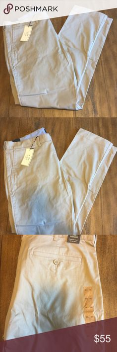 "Men's Jcrew Khaki pants Khaki Jcrew pants (men's) brand new with tags-style is called ""driggs"" (slim fit) J. Crew Pants Trousers"