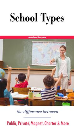 School Types - The Difference Between Public, Private, Magnet, Charter And More