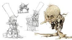So imaginative!!  Jean-Baptiste Monge illustrations