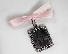 Photo Charm Memorial Bouquet Pendant  Silver by AristoCrafty, $6.00