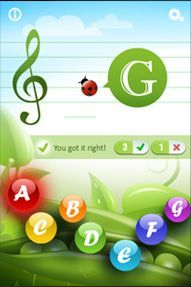 Want your little ones to learn to read music? There's an app for that! Great for…