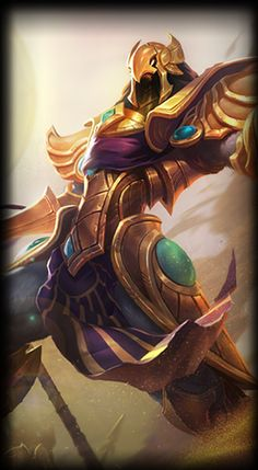 Azir the Emperor of the Sands
