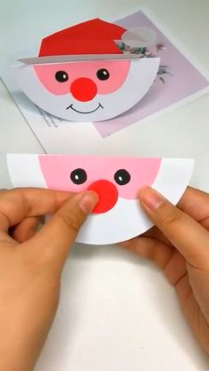 Hand Crafts For Kids, Daycare Crafts, Winter Crafts For Kids, Preschool Crafts, Kids Daycare, Toddler Crafts, Christmas Arts And Crafts, Santa Crafts, Kids Christmas