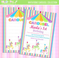 Custom Invitations for any ocation, Birthday, baby shower and more by MarleneCampos.com