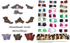 CUSTOM MADE RETRO KNITWEAR HANDMADE TUBE SOCKSGREAT FOR DIABETIC / DIABETES SUFFERERS Ankle Socks/ Long Tall knee high Socks / Boot Socks / Bed Socks / Lounge SocksOne size fits all