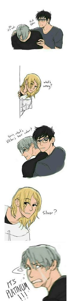 Poze Yuri on Ice - 6 - Page 2 - Wattpad All Anime, Manga Anime, Percy Jackson, Manhwa, Yuri X Victor, Yuri On Ice Comic, Katsuki Yuri, Katsudon, ユーリ!!! On Ice