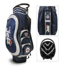 Team Golf Winnipeg Jets Medalist 14-Way Golf Cart Bag - Golf Equipment, Collegiate Golf Products at Academy Sports