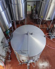 Looking down at the Kernel Brewery