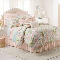 LC Lauren Conrad Tea Berry 2-pc. Reversible Comforter Set - Twin/XL Twin from Kohl's