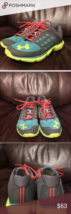 Under Armour micro g sneakers size 7.5 Under Armour micro g sneakers size 7.5 Under Armour Shoes Sneakers