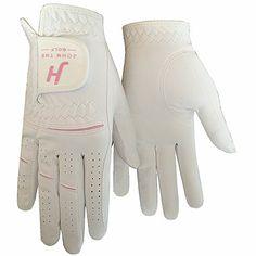 Finger Ten JT 2017 Women's Ladies Girl Rain Grip Cool Comfortable Durable Left Lh Right Rh Hand Golf Gloves Value 2 Pack or in Pair #golfgloves