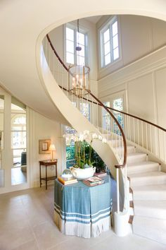 Classic Staircase by F Wilson Fuqua and Associates Architects, Inc ༺༺  ❤ ℭƘ ༻༻