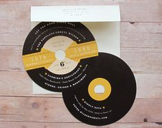 Music Lovers Reto Record 1950s Rockabilly LP por LetterBoxInk