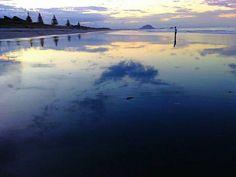 #newzealandbeach #reflection