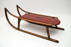 Vintage Simple wooden sled