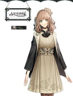 Amnesia... I like the character designs for this one, but apparently a lot of people don't like the main character (the girl in the picture)