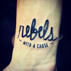 Rebels with a cause.  #tattoo #ink