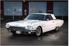 Ford Thunderbird, 1965. Maintenance/restoration of old/vintage vehicles: the material for new cogs/casters/gears/pads could be cast polyamide which I (Cast polyamide) can produce. My contact: tatjana.alic@windowslive.com