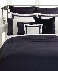 Lauren Ralph Lauren Bedding, Navy Glen Plaid Suite Collection - Bedding Collections - Bed & Bath - Macy's