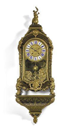 A Régence turtleshell boulle bracket clock, Claude Du Grand Mesnil, Paris, circa 1720
