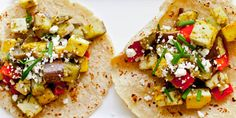Sauteed Vegetable Tacos with Herb Sauce | Cook Smarts by Jess Dang