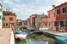 The island of Burano by Jaroslav Frank