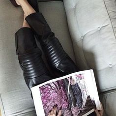 Leather trousers @charliemay #perfection #charliemay #collection #leathertrousers #annarike #creatorsofdesire