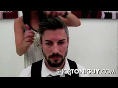 ▶ How to Style Men's Hair | Faux Hawk & Clean Combed Look - YouTube