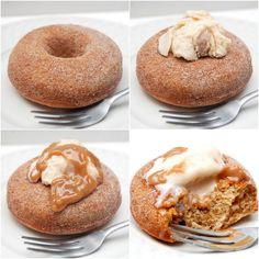 Dessert doughnuts--using pureed fruit and KA flour