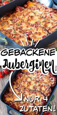 Super leckere gebackene Auberginen If you like eggplants, you will love these baked eggplants. They are made from just four ingredients and are simply super and totally aromatic. Naturally low in calories and healthy. Vegetarian Recipes Dinner, Healthy Dessert Recipes, Vegetarian Lifestyle, Baked Eggplant, Healthy Eggplant, Clean Eating Dinner, Family Meals, Macaroni And Cheese, Chicken Recipes