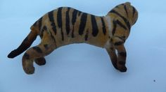 Antique Victorian Spun Cotton Tiger Christmas Ornament | eBay
