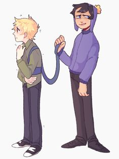 The Best Couple in South Park. Craig x Tweek = Creek Craig South Park, Tweek South Park, South Park Anime, South Park Fanart, South Park Memes, Old Married Couple, Tweek And Craig, Tomtord Comic, Country Art