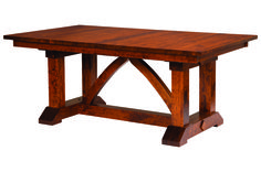 Bostonian Trestle Dining Table :: Dining Tables :: Tables :: Shop By Type :: Amish Furniture Factory