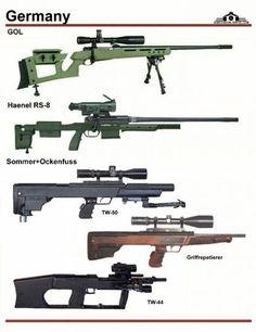 Германия: GOL Sniper Rifle, Haenel RS-8, Sommer...