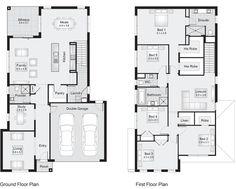 Parkhill 34 || Floor Plan - 311.50sqm, 11.30m width, 17.60m depth || Clarendon Homes