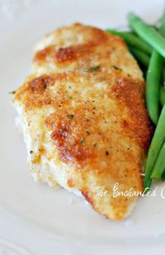 Parmesan Crusted Chicken Just mix mayo (1/2 c) and parm cheese (1/4 c), garlic p... - http://delectablesalads.com/parmesan-crusted-chicken-just-mix-mayo-12-c-and-parm-cheese-14-c-garlic-p/