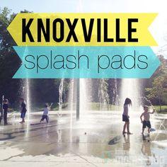 Knoxville Splash Pads via @Ashley Enoch Attey Moms Blog