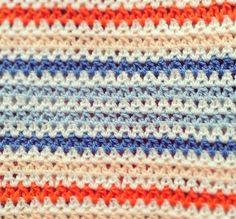 The Hunter V-stitch Rainbow Blanket | PatternPiper Crochet