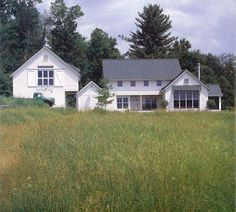beautiful white farmhouse (from Burr & McCallum Architects, on McMaster and Storm)
