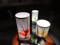 gestos y color de mi obra a pantallas y lamparas